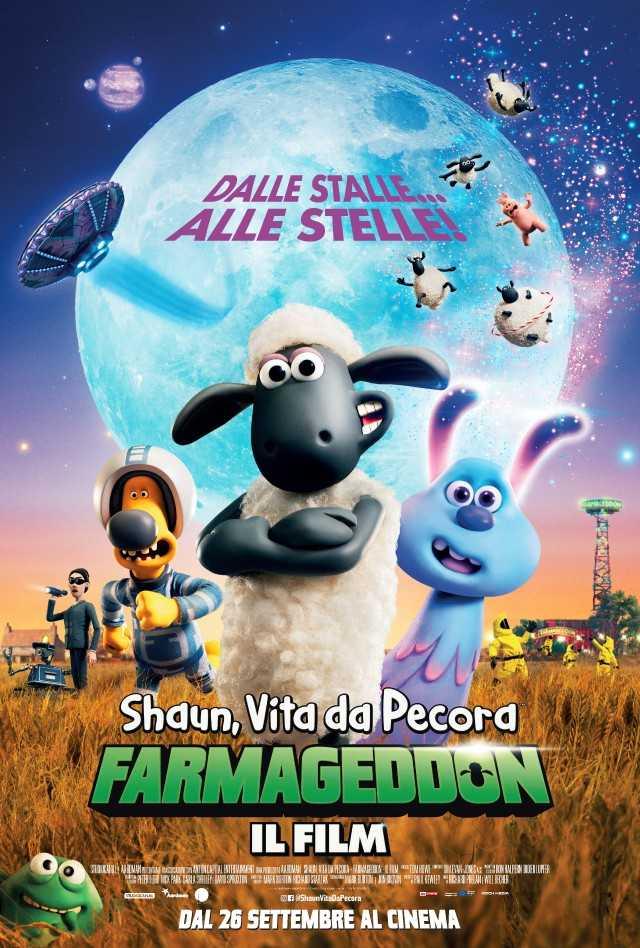 Shaun, vita da pecora - Farmageddon - Il film - locandina