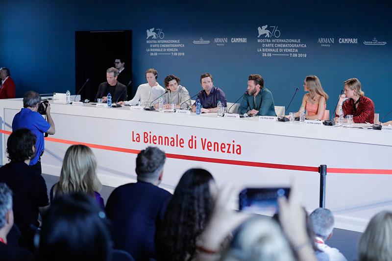 Venezia 76: la conferenza stampa di The King