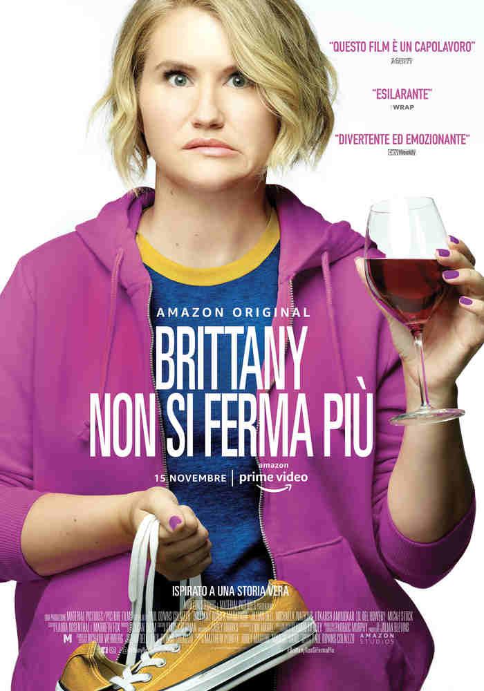 Brittany non si ferma più - poster Amazon Prime Video