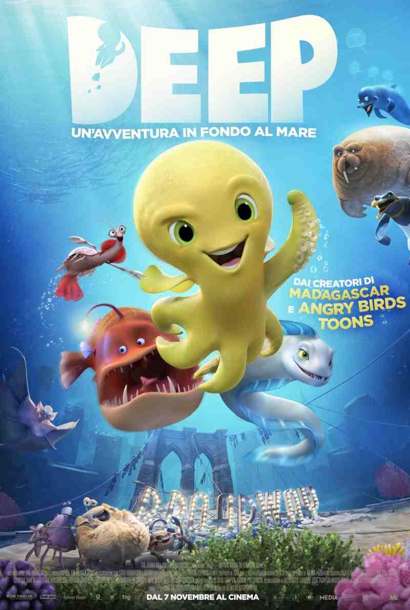 Deep – Un'avventura in fondo al mare - poster