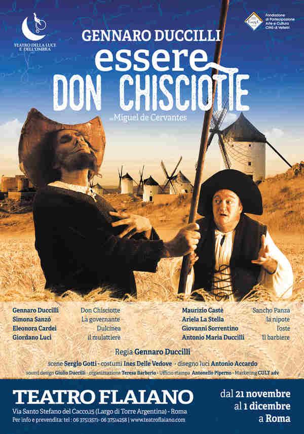 Essere Don Chisciotte - locandina