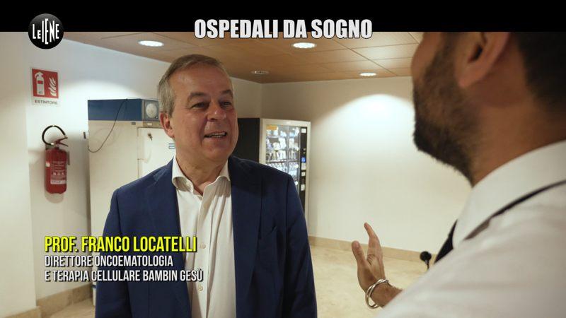 Intervista Franco Locatelli - Le Iene