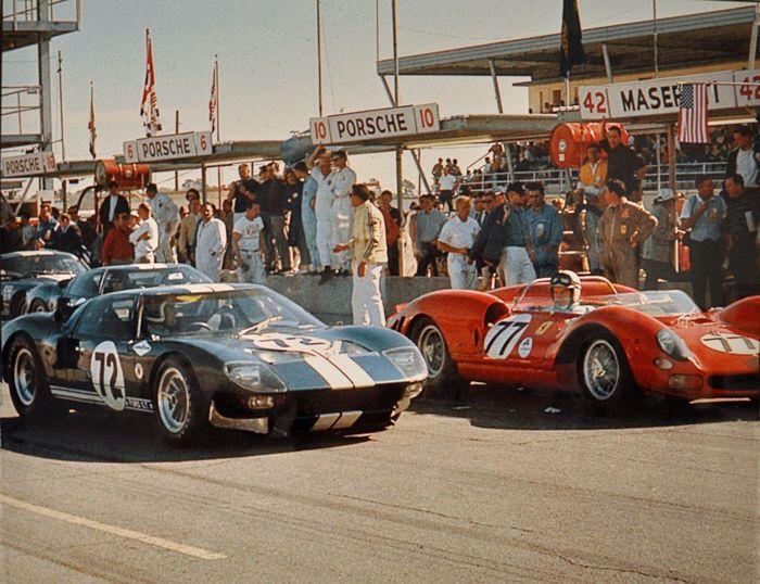 Le Mans '66 - Ford VS Ferrari.