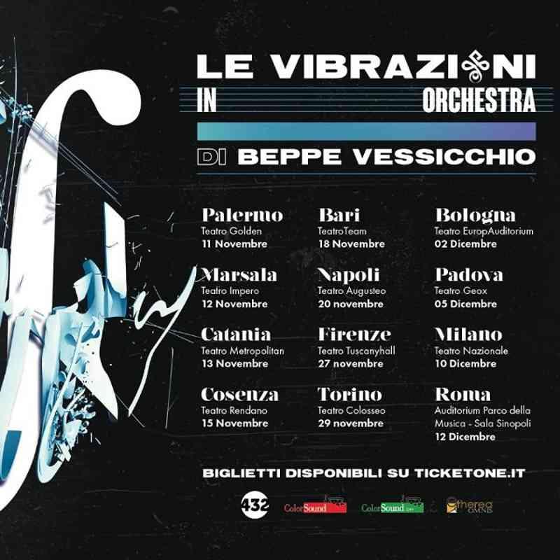 Le Vibrazioni - Locandina tour
