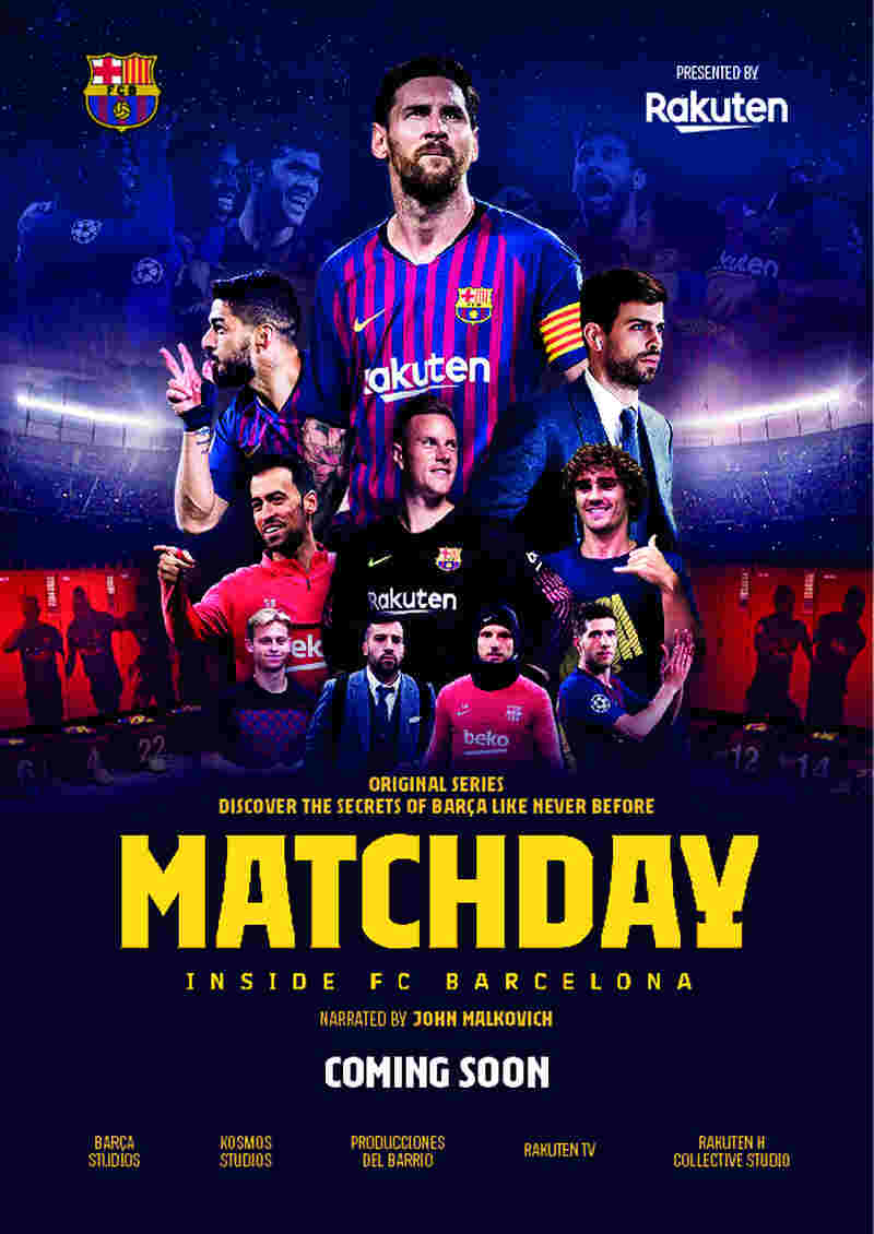 Matchday - Inside FC Barcellona