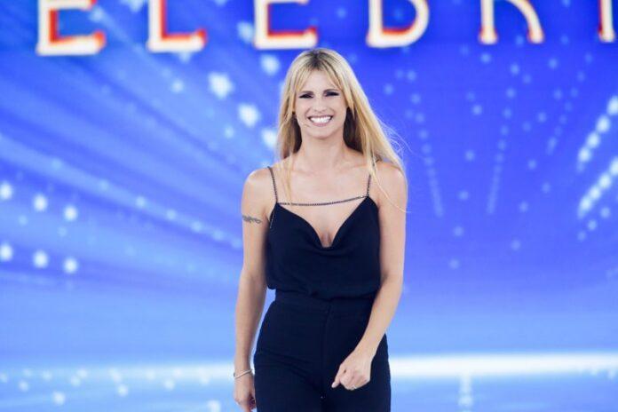 Michelle Hunziker ad Amici Celebrities