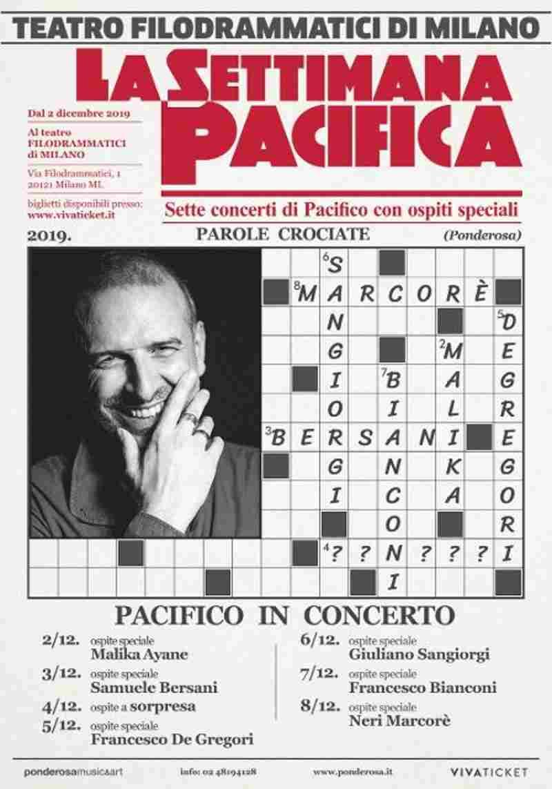 Pacifico - La settimana pacifica locandina