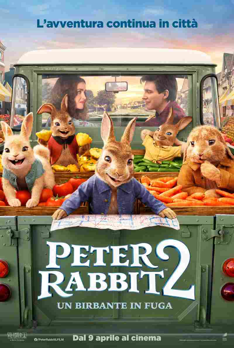 Peter Rabbit 2 Un Birbante In Fuga - locandina