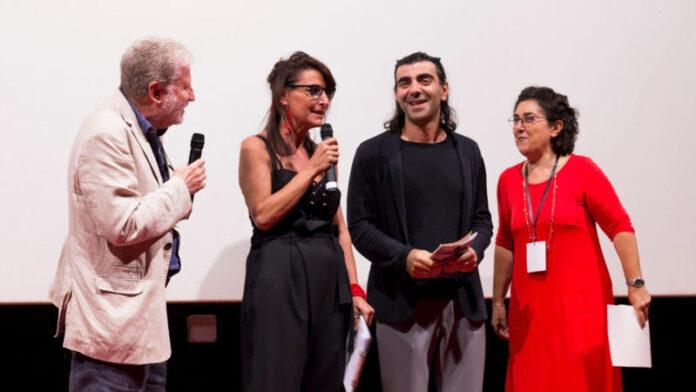 Premiazione Fatih Akin - Efebo D'Oro 2019