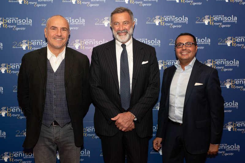 Premio Penisola Sorrentina 2019 - Luca Barbareschi, Danilo Rea, Mario Esposito