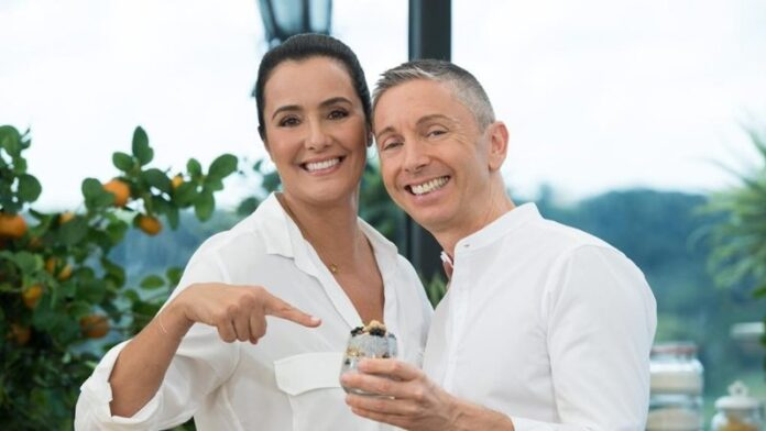 Roberta Capua e Gianluca Mech