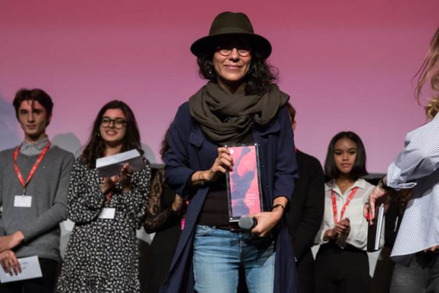 RomaFF14 - Premiazione Alice nella città - Sarah Suco