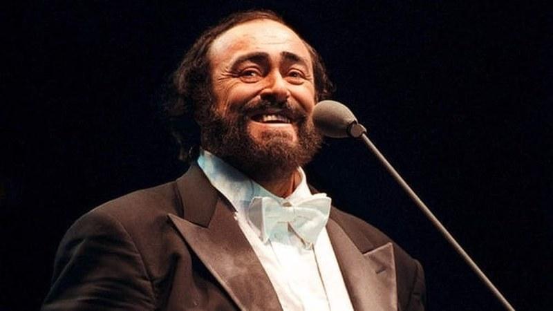 Tenore Luciano Pavarotti