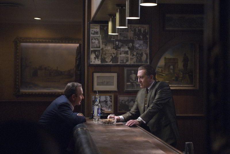 The Irishman - Joe Pesci e Robert De Niro in una scena