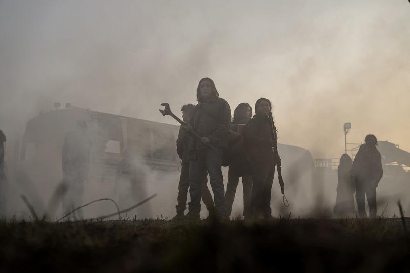 The Walking Dead - Alexa Mansour, Aliyah Royale, Hal Cumpston, Nicolas Cantu