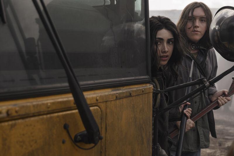 The Walking Dead nuova serie - Alexa Mansour e Hal Cumpston