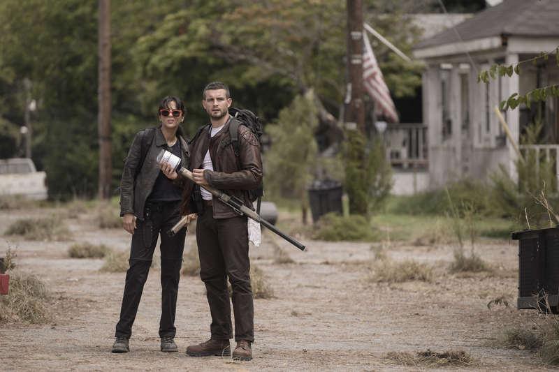 The Walking Dead nuova serie - Nico Tortorella e Annet Mahendru