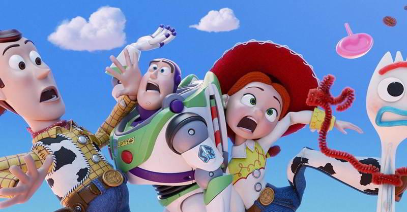 Una scena di Toy Story 4
