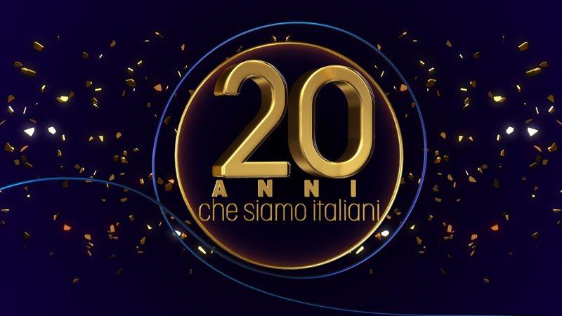 Logo 20 anni che siamo italiani