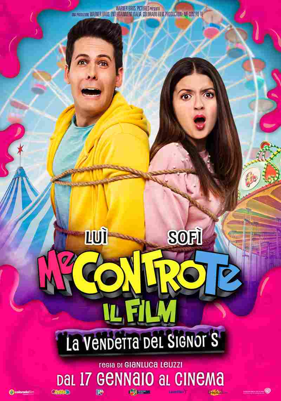 Me Contro Te Il Film – La vendetta del Signor S - poster