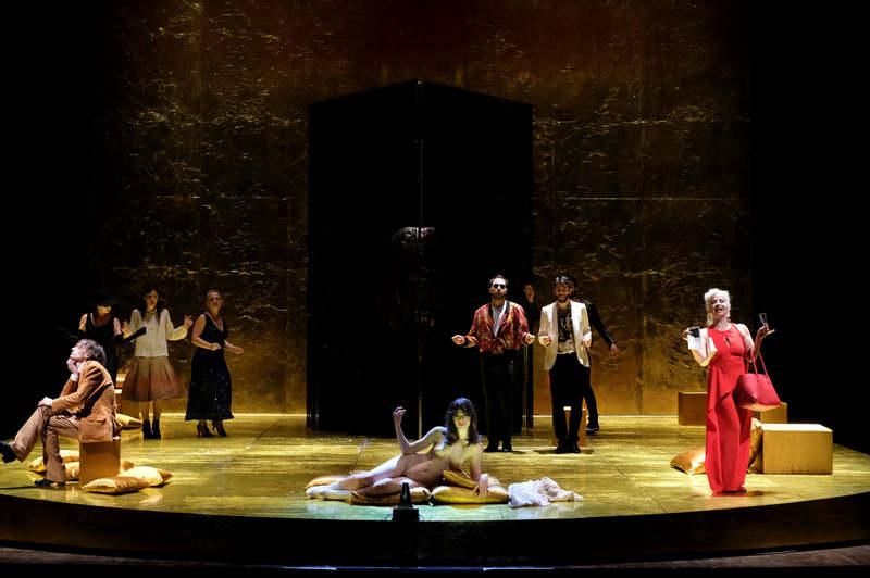 Satyricon - Teatro Argentina foto di scena