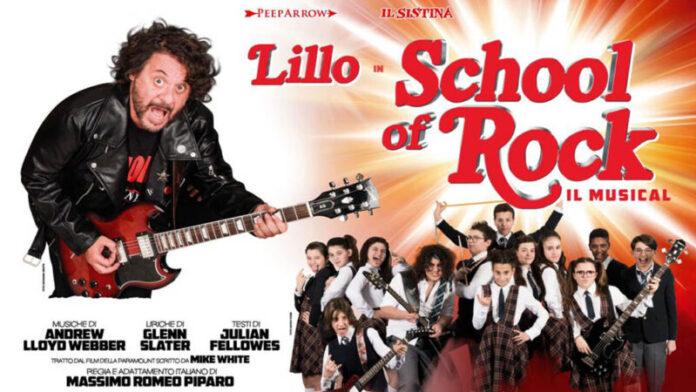 School of Rock, il musical di Piparo con Lillo: tutte le date del nuovo tour
