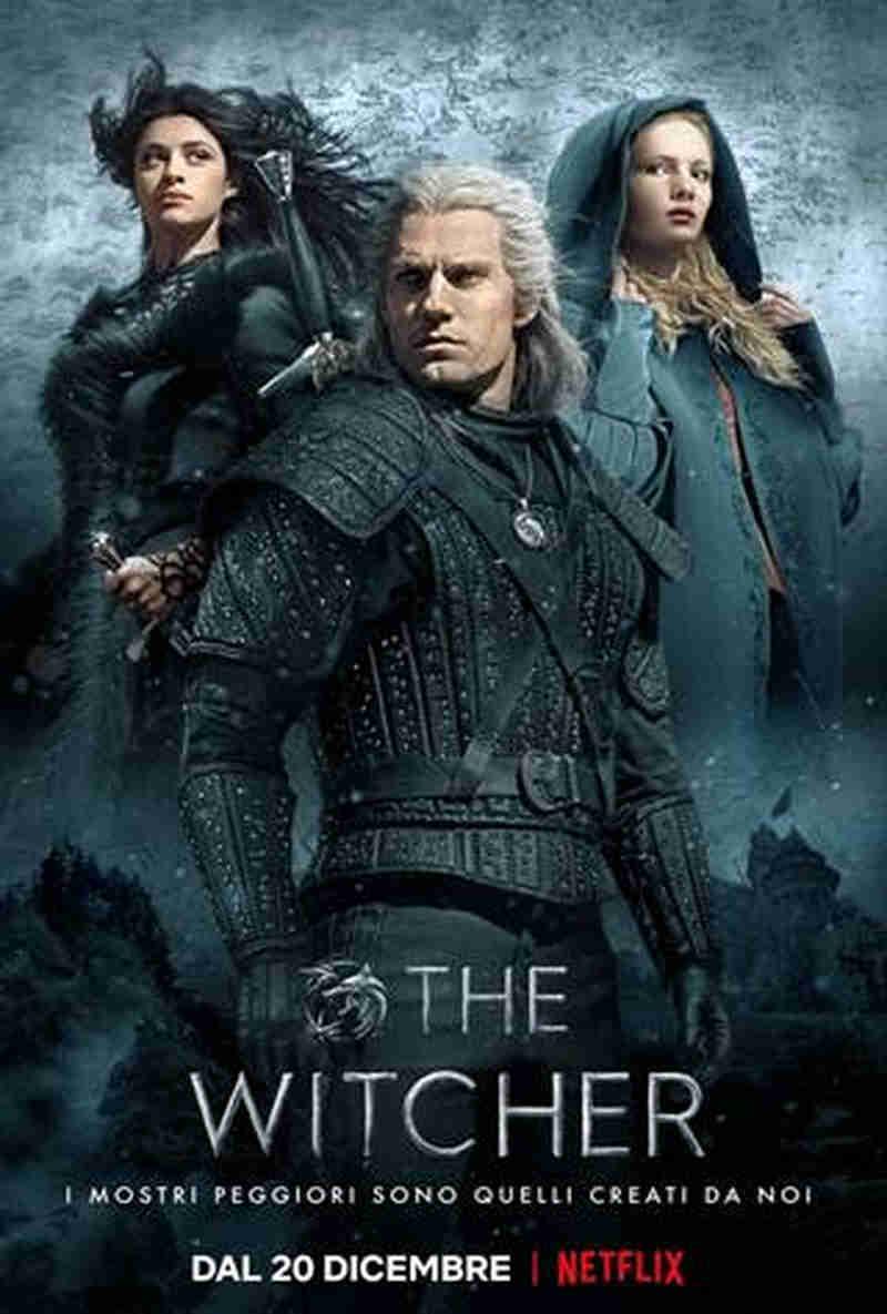 The Witcher - locandina Netflix