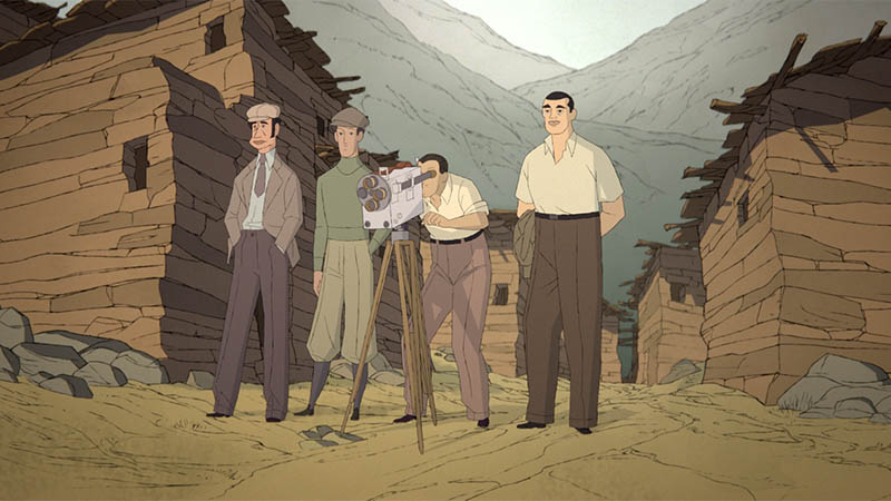 European Film Awards 2019: Buñuel in The Labyrinth of The Turtles: un fotogramma del film d'animazione