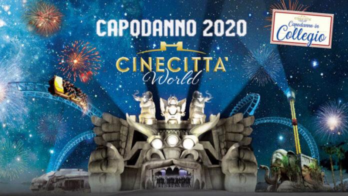 Capodanno a Cinecittà World con Biondo e i prof de Il collegio