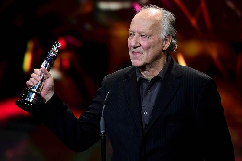 European Film Awards 2019:Il regista, attore e produttore tedesco Werner Herzog: per lui il Premio alla carriera