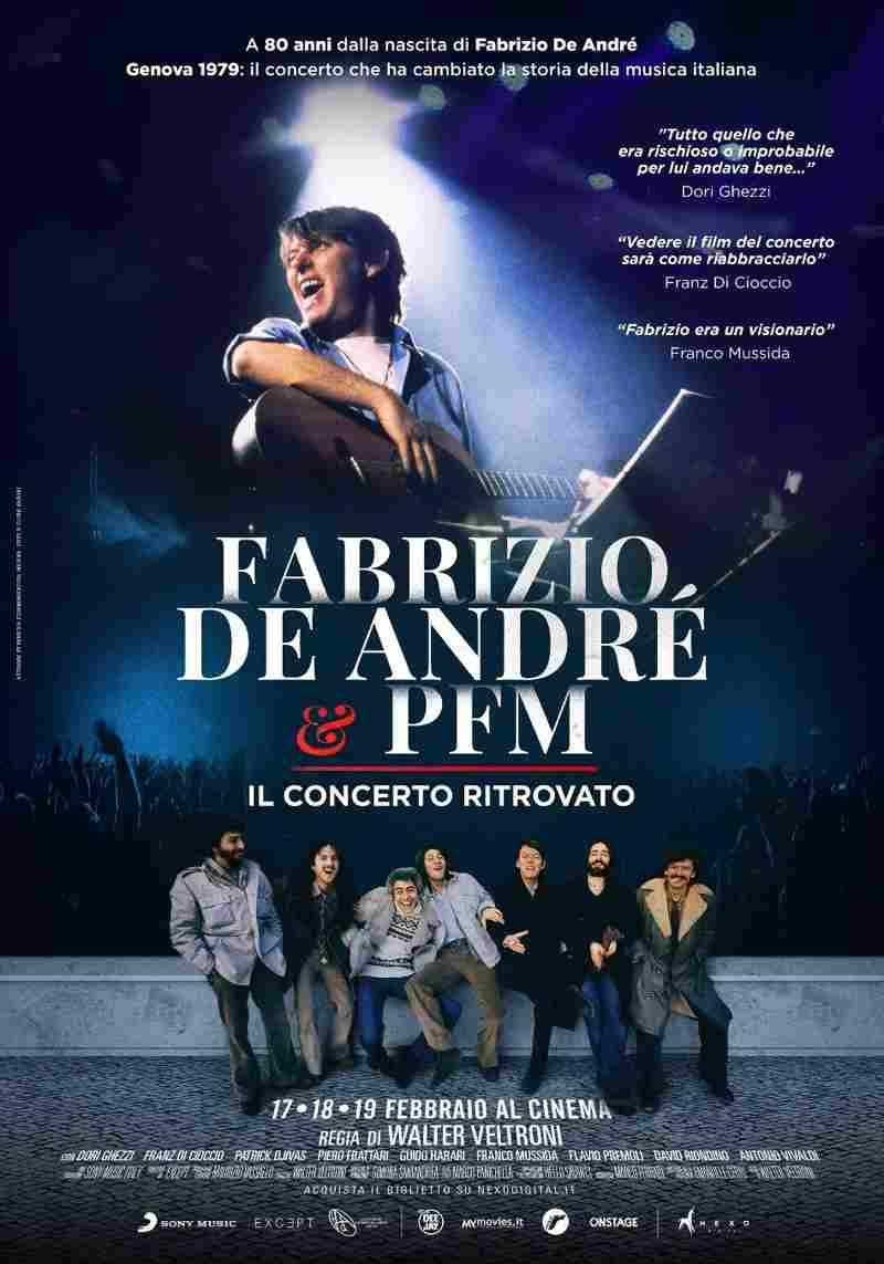Fabrizio De Andrè e la PFM - Poster film