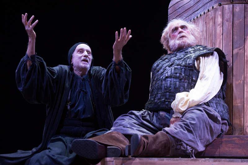Falstaff e il suo servo - Franco Branciaroli e Massimo De Francovich