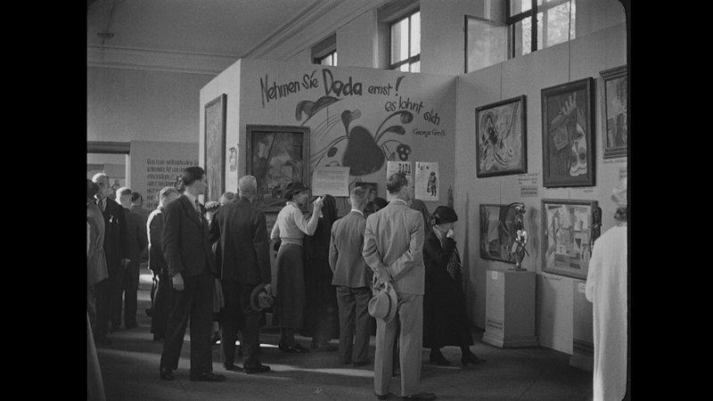 I nazisti e l'arte rubata - mostra arte degenerata