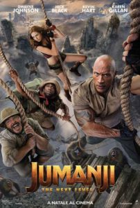 Jumanji - The Next Level - locandina