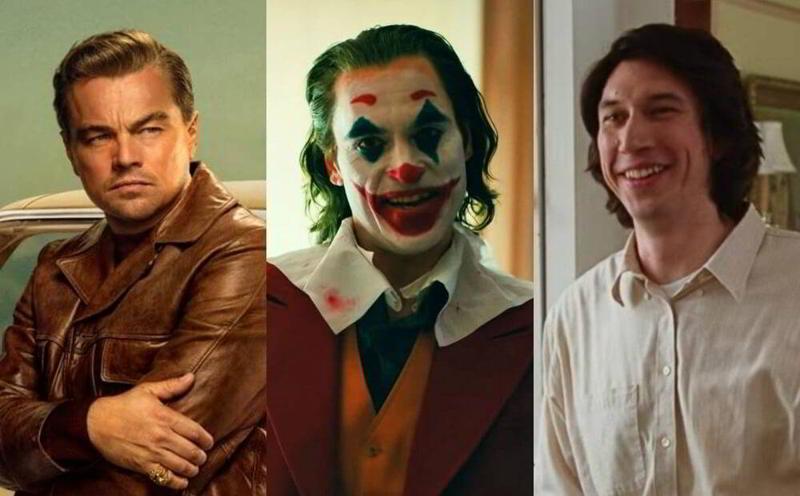 Leonardo Di Caprio, Joaquin Phoenix e Adam Driver