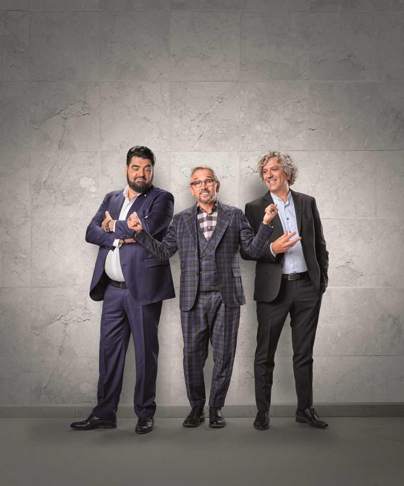 MasterChef - Antonino Cannavacciuolo, Bruno Barbieri, Giorgio Locatelli