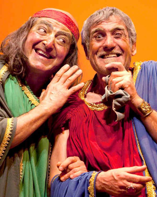 Mostellaria - Rocco Militano e Ugo Cardinali