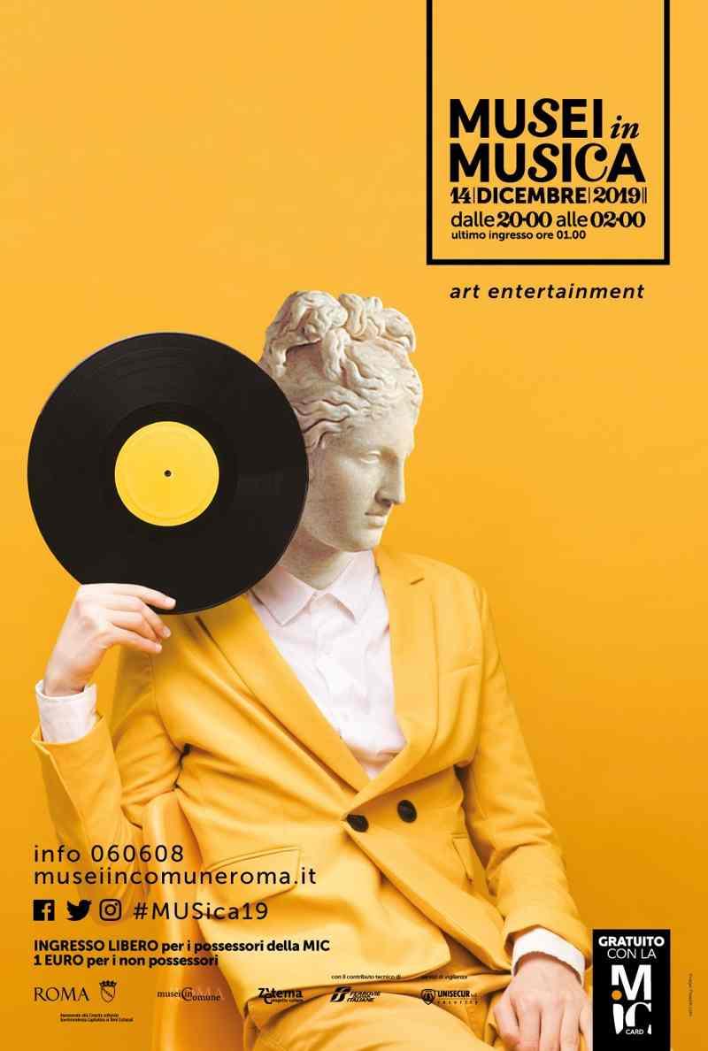 Musei in musica locandina
