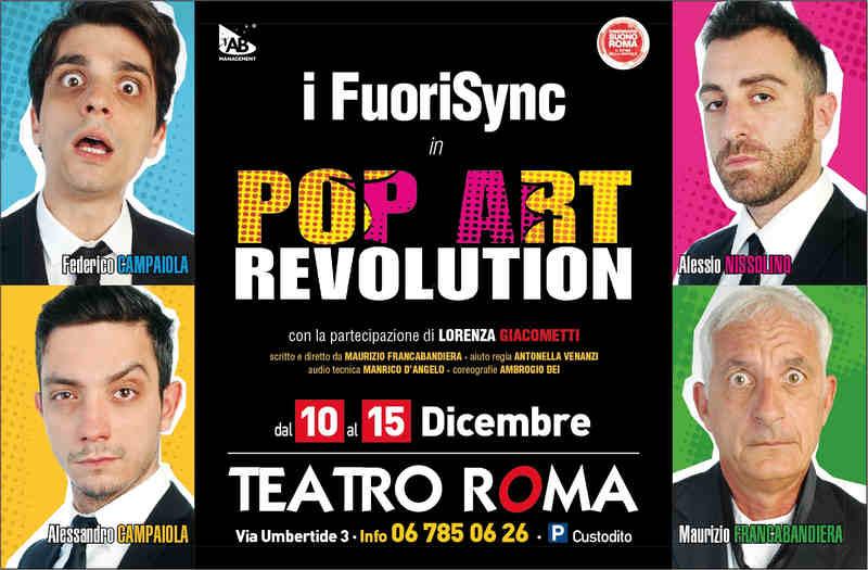 Pop Art - locandina Teatro Roma
