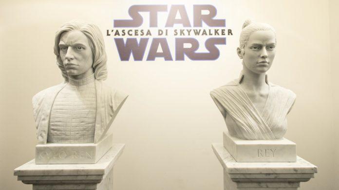Star Wars: L'Ascesa di Skywalker, una mostra ispirata a Rey e Kylo Ren