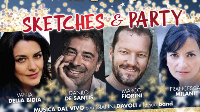 Teatro Golden - locandina Capodanno 2020