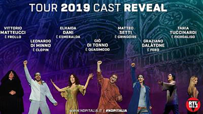 Notre Dame de Paris: Il cast originale del musical torna per il tour 2019/2020