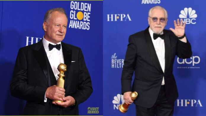 Golden Globe 2020 - Stellan Skarsgård e Brian Cox
