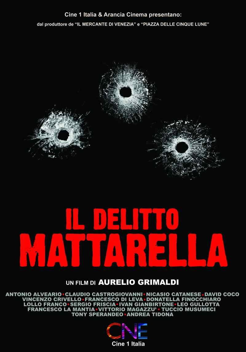 Il delitto di Mattarella - locandina