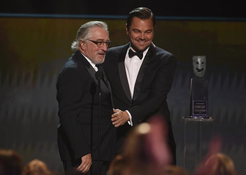 Leonardo DiCaprio e Robert De Niro - SAG Awards 2020