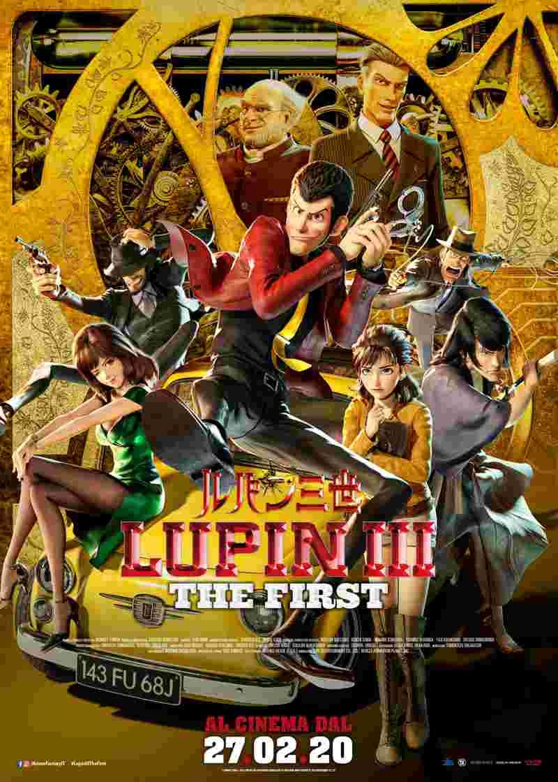 Lupin III - The First - Poster Ufficiale Italiano (002)