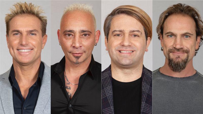 Pasquale Laricchia, Patrick Ray Pugliese, Salvo Veneziano e Sergio Volpini