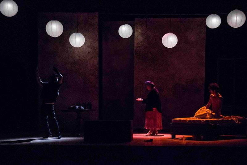 Marisa Laurito,Guglielmo Poggi, Giancarlo Nicoletti e Livio Beshir al Teatro Vittoria di Roma per la prima nazionale di Persone naturali e strafottenti