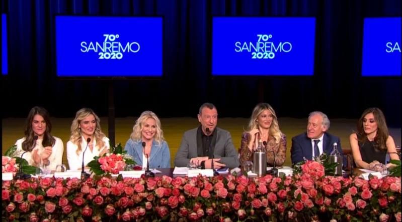 Sanremo 2020 Conferenza stampa 2