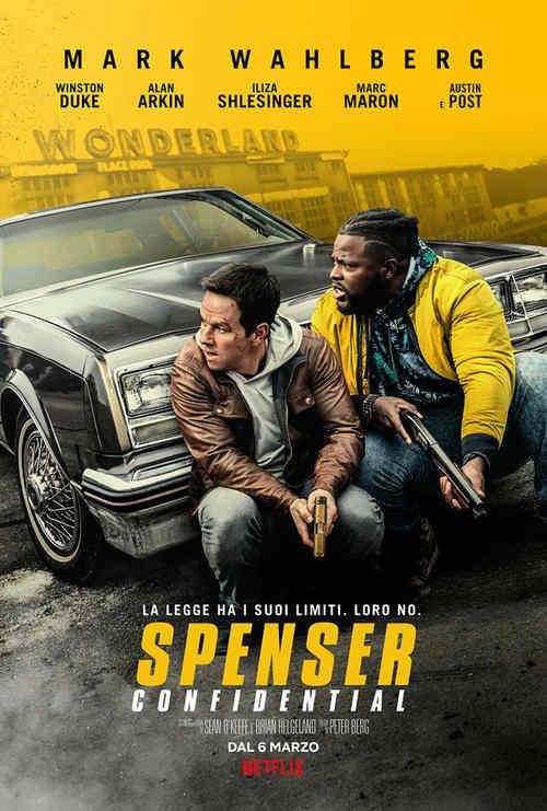 Spenser Confidential - locandina Netflix